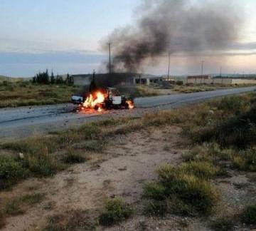 استشهاد واصابة 3 مدنيين جراء احتراق ناقلتين في طريق البيضاء مأرب